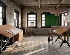 Henry Ford's Design Studio for the Model T, Piquette Plant #burtynsky #photography #atelier #edward