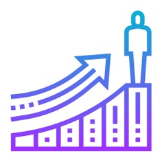 See more icon inspiration related to progress, growth, profit, arrow, advancement, business and finance, stickman, finance and person on Flaticon.