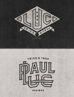 LOGO DESIGN FOR A PITTSBURGH MUSICIAN #heritage #white #branding #marks #& #black #logo
