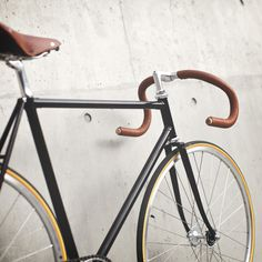 Custom Bike Project by Jon Chew #velo #leather #bike #custom #metal