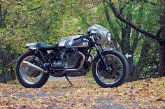 Moto Guzzi Le Mans #v #twin #racer #cafe #guzzi #chrome #mans #le #moto #motorcycle