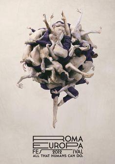 Print Campaign for Palladium Theatre by Lorenzo Vitturi #typography