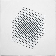 geometrydaily:2^9 = 2 x 2 x 2 x 2 x 2 x 2 x 2 x 2 x 2 = 512 dots, arranged in cubes. 2x2 dots arranged in cubes, arranged in 2x2 meta cubes, #grid #design #shapes