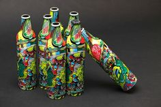 Mountain Dew Green Label Art - NoPattern Studio / Chuck Anderson 2011 : Art, design, photography, creative direction. #mountain #bottle #packaging #design #dew #illustration