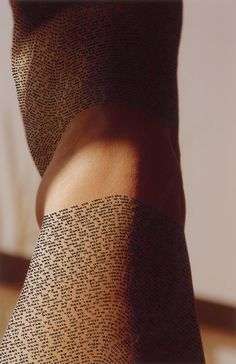 Calligraphy on the Human Body2 #calligraphy #tattoo #ink #body