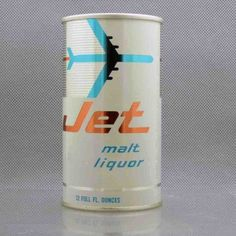 Jet malt liquor - Graphic Design Packaging #beverage #branding #packaging #design #graphic #retro