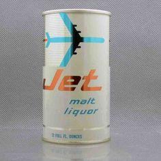 Jet malt liquor - Graphic Design Packaging #beverage #branding #packaging #design #graphic #retro