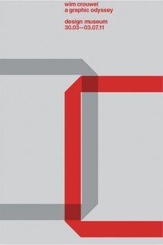 Design Museum Shop: Exhibition Products > Current Exhibitions > Wim Crouwel, A Graphic Odyssey > Wim Crouwel \'C\' Portfolio - Set of Five P