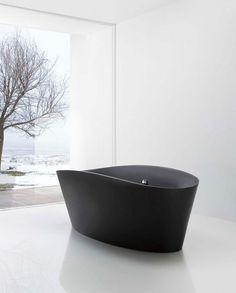 Tina - Minimalissimo #bath #minimalism #glass #wall #window
