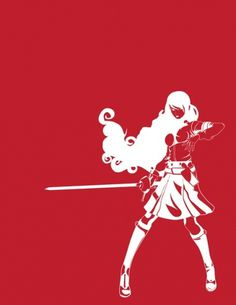 tumblr_m1ky3smU8w1qevjafo1_500.jpg (500×647) #mitsuru #vector #red #rpg #outline