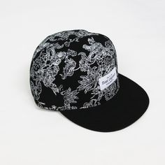 Float Captain fdine print cap #pattern #surf #floral #hats #fashion