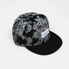 Float Captain fdine print cap #pattern #surf #floral #hats #fashion