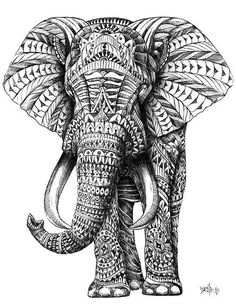 Elephant #tattoo #elephant