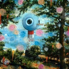 BLDG//WLF #painting #heiko #muller #art