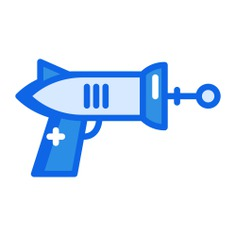 See more icon inspiration related to gun, space gun, miscellaneous, guns, gaming, arms, arm, pointing, weapons, space and left on Flaticon.