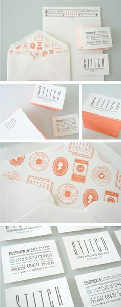 stitchdesignco.com/ #identity #business cards #stationary
