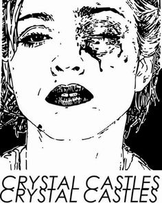 Crystal Castles « INFOtainment! #castles #crystal #cover #illustration #portrait