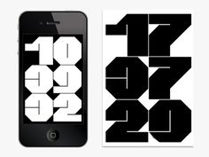 iPhone Alarm App Pays Homage To Graphics God Wim Crouwel | Co.Design | business + design #typography