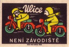 Vintage Character Illustration #illustration #character #motorbike #vintage