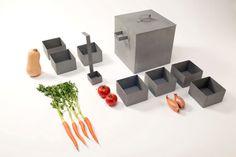 Stewdio - Luke Dodridge & Lauren Doherty #design #product #productdesign #pot #metal #food #utensil #homeware