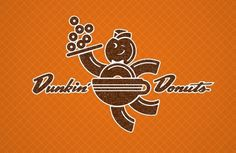 Matt Stevens // Creative Direction + Design - WORK BLOG - Daydream rebrand: Dunkin Donuts #coffee #logo #mascot #donuts