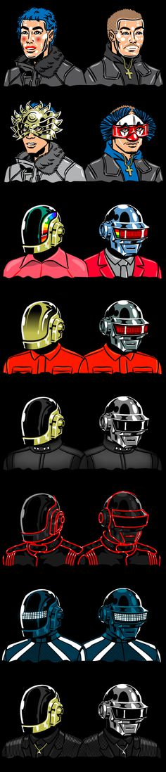 #daftpunk #illustration