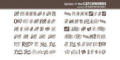 HWT Catchwords Desktop font « MyFonts #type #hamilton #wood
