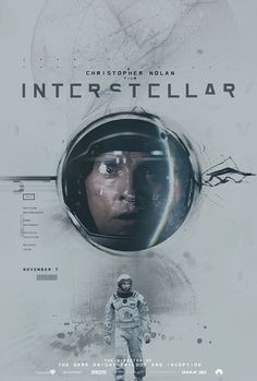 Posters by James Fletcher2 #inspiration #creative #movie #interstellar #print #design #space #unique #poster #film