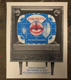 Tom Petty Gig Poster - From up North