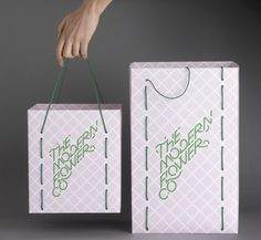 SI Special – Multistorey | September Industry #shopping #bag #lines #floral