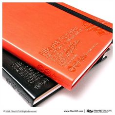 Filter017 Embossed Notebook on the Behance Network