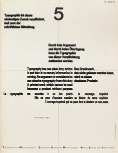 Typografische Monatsblätter. Die Fachzeitschrift für Typografie, Schrift und visuelle Kommunikation. | Cover from 1973 issue 5 | Wolfgang