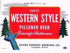 HARTZ Western Style Pilsener Beer