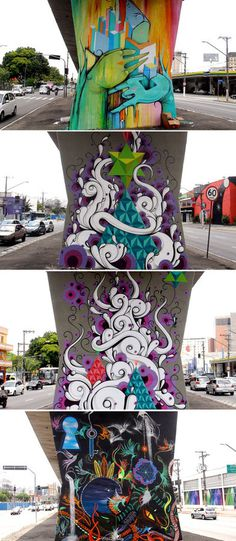 mus3 #graffiti #tentacles #art #street
