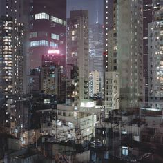 Ward Roberts #urban #refelction #city #lights #photography