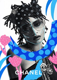Willow Smith illustrated by Andreea_Robescu, www.andreearobescu.com