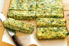 Carrot, zucchini and parsnip frittata fingers main image #food