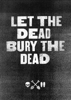 Let The Dead / Bury The Dead - Action Hero #type #xerox #poster
