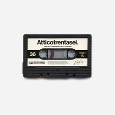 Attico36 Bad Beat Tapes #graphic #design #music #tapes #minimal #vintage #artwork #bad #poster #product #old