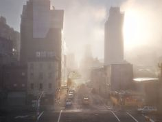 The HighLine NYC (1) #ny #fog #darran #photography #morning #rees #surreal #york #new