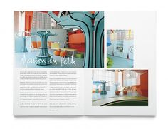 TIERRA magazine on the Behance Network #inspiration #minimal #layout #editorial #typography