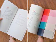 Brandbook #brand #color #guidelines #palette