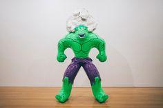 "Jeff Koons ""Hulk Elvis"" Exhibition at Gagosian Gallery Hong Kong Recap | HYPEBEAST #hulk #sculpture #reality #jeff #balloon #koons"