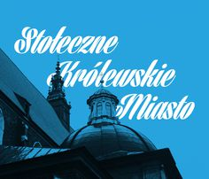 Cracow Poster #architecture #poster #poland #type #blue