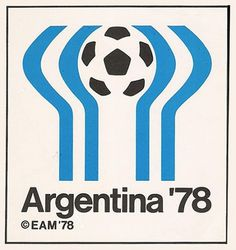 Argentina Football World Cup Logo 1978 #logo #design #poster