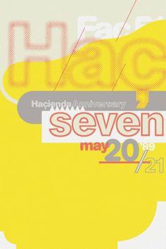Hamish Muir: 8vo #print #8vo #poster #hacienda