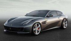 The Ferrari GTC4 Lusso Comes Out Into The Light #Ferrari #GTC4 #GTC4Lusso