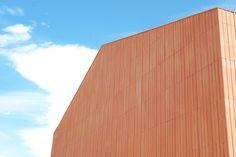 studio zero85 home studio for an artist designboom #terra #cotta