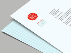 Branding Concept for a Bakery on Behance - Color use #letterhead