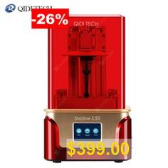 QIDI #TECH #LCD #3D #Printer #Shadow #5.5 #S #UV #LCD #Resin #Printer #with #Dual #z #axis #Liner #Rail